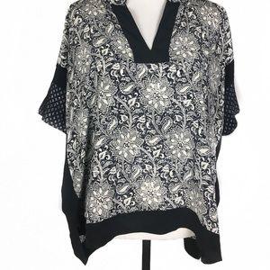 Rebecca Taylor Silk Oversized Tunic   Size 6